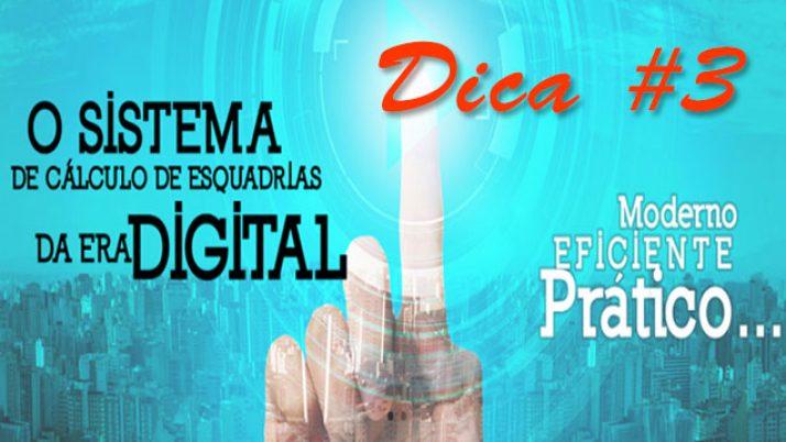 DICA 3: Apresentar soluções com várias tipologias
